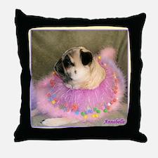 Annie Easter Throw Pillow