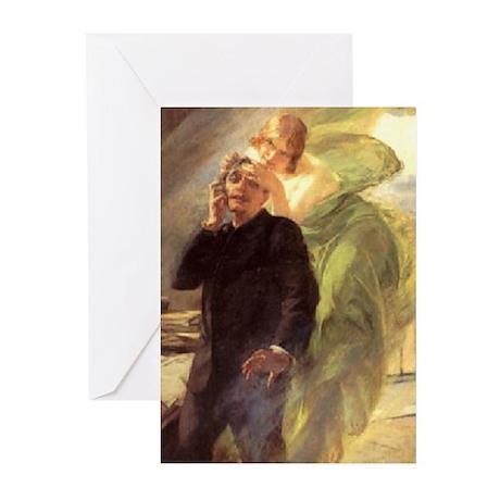 Albert Maignan - Green Muse Greeting Cards (Pk of