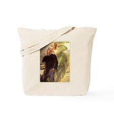 Albert Maignan - Green Muse Tote Bag