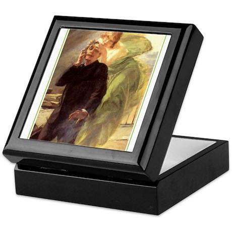 Albert Maignan - Green Muse Keepsake Box