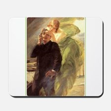 Albert Maignan - Green Muse Mousepad