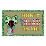 Snake Tread USA Rectangle Sticker