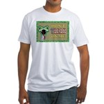 Snake Tread USA Fitted T-Shirt