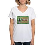 Snake Tread USA Women's V-Neck T-Shirt