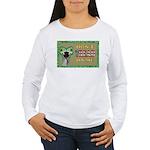Snake Tread USA Women's Long Sleeve T-Shirt