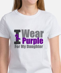 I Wear Purple (Daughter) Tee
