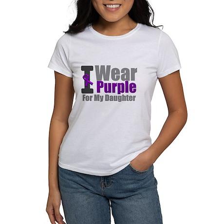 I Wear Purple (Daughter) Women's T-Shirt