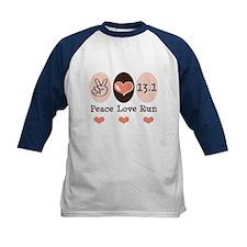 Peace Love Run 13.1 Tee