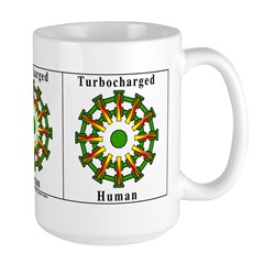 Turbocharged Human Mug