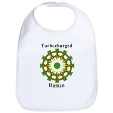 Turbocharged Human Bib