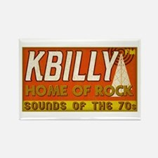 KBILLY Rock Rectangle Magnet