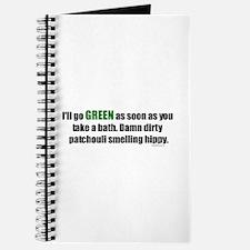 I'll Go GREEN Journal