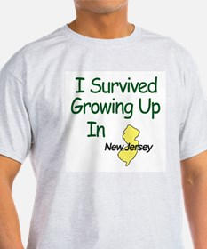 I Survived Growing Up In New T-Shirt