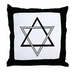 Solomon's Seal Throw Pillow
