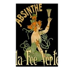 La Fee Verte Postcards (Package of 8)