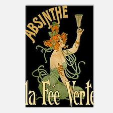 La Fee Verte Postcards (Package of 8)