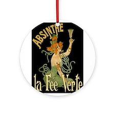 La Fee Verte Ornament (Round)