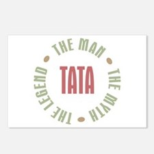 Tata Czech Dad Man Myth Legend Postcards (Package