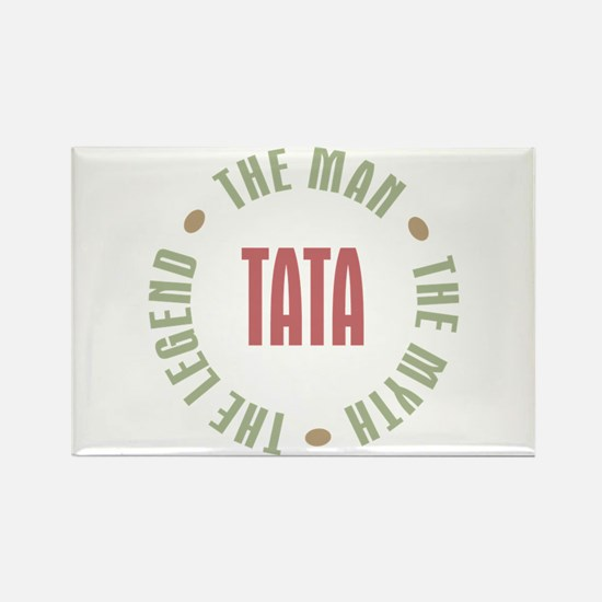 Tata Czech Dad Man Myth Legend Rectangle Magnet