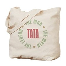 Tata Czech Dad Man Myth Legend Tote Bag