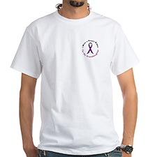 Purple Ribbon For My Granddaughter 4 Shirt