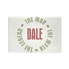 Dale Man Myth Legend Rectangle Magnet (10 pack)