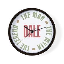 Dale Man Myth Legend Wall Clock