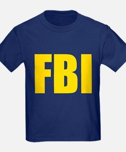 FBI Yellow T