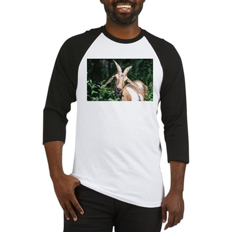 Goat Photo Baseball Jersey