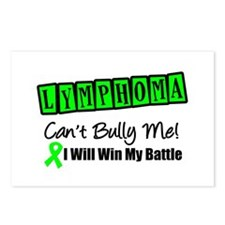 Lymphoma Can't Bully Me Postcards (Package of 8)