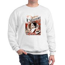 Harry Houdini King of Cards Sweatshirt