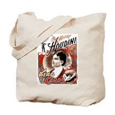Harry Houdini King of Cards Tote Bag