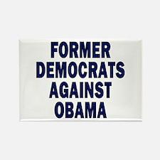 Former Democrats against... (rectangular magnet)