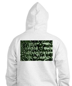 CAMOUFLAGED STARS & STRIPES Hoodie
