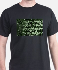 CAMOUFLAGED STARS & STRIPES T-Shirt