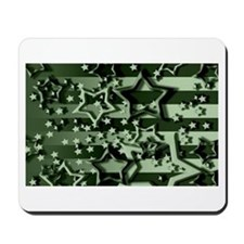 CAMOUFLAGED STARS & STRIPES Mousepad