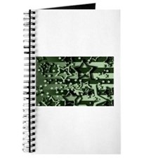 CAMOUFLAGED STARS & STRIPES Journal