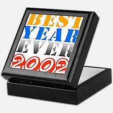 Best year ever 2002 Keepsake Box