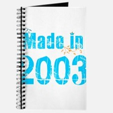 Made in 2003 Journal