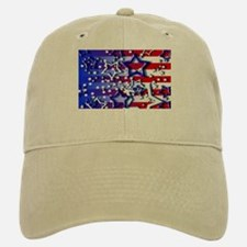 STARS & STRIPES Baseball Baseball Cap