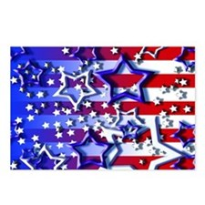 STARS & STRIPES Postcards (Package of 8)