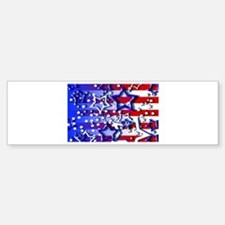 STARS & STRIPES Bumper Bumper Bumper Sticker