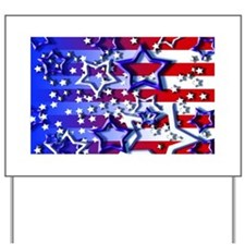 STARS & STRIPES Yard Sign