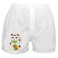Japanese Lucky Cat Boxer Shorts