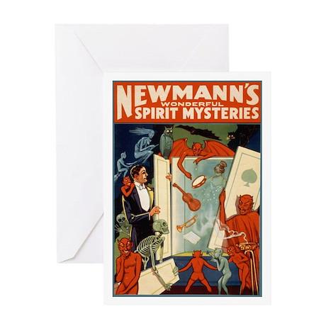 Newmann The Magician Greeting Card