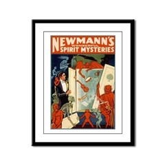 Newmann The Magician Framed Panel Print
