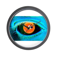 Catch the RED-Eye on Wall Clock