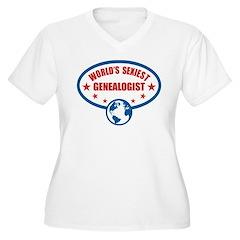 Worlds Sexiest Genealogist T-Shirt