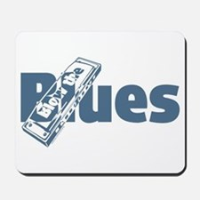 Harmonica Blues Mousepad