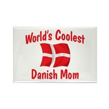 Coolest Danish Mom Rectangle Magnet